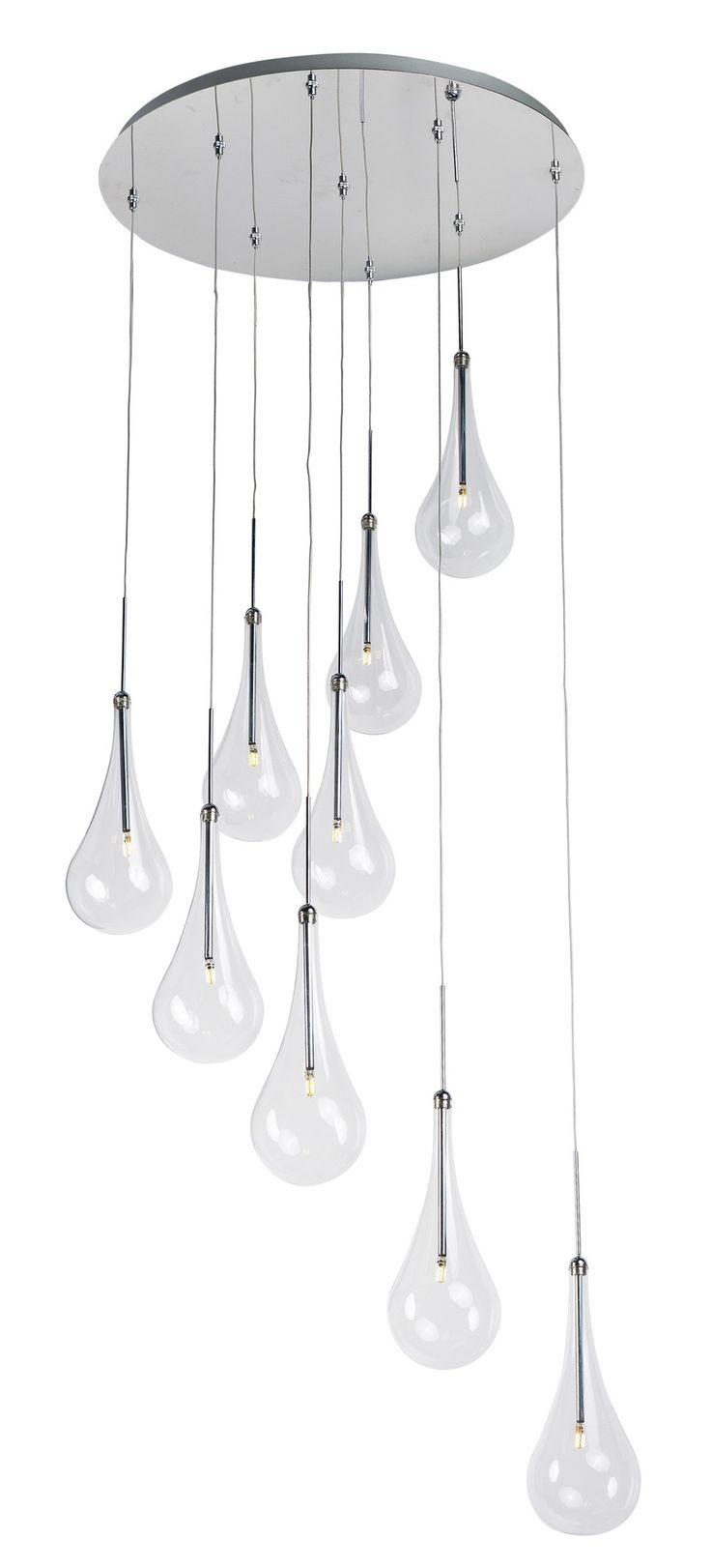 The 25 best g4 led ideas on pinterest industrial table lamps larmes 9 light led pendant arubaitofo Gallery