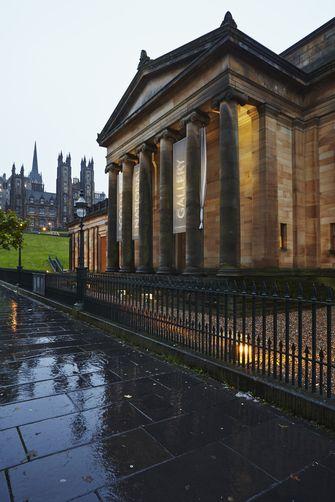 The Scottish National Gallery, Edinburgh, Scotland.