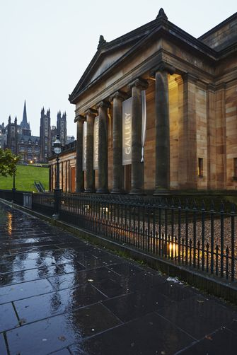 The Scottish National Gallery, Edinburgh, Scotland.