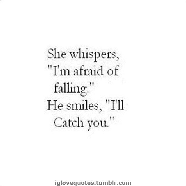 They shalt say this in a scene. Because she is ever so good at falling and most of the time she lands in his arms.  Kalee+Jace=Love Story
