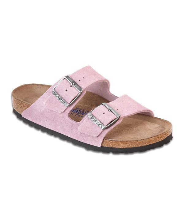 Take a look at this Birkenstock Passion Flower Suede Arizona Slide - Women on zulily today!