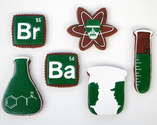 Breaking Bad cookies.  Yes!
