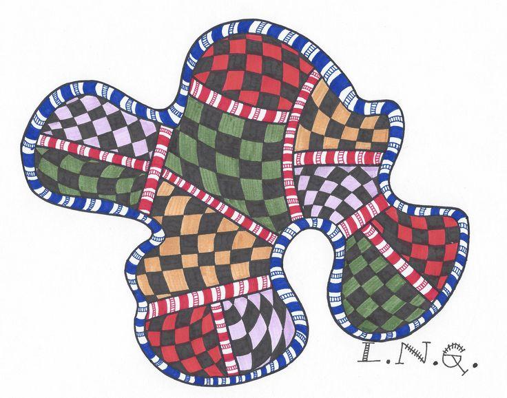L.N.G. Original Zentangle #11