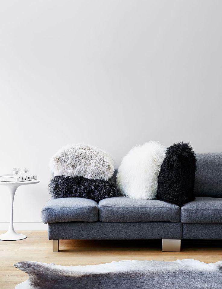 Abode Living - Cushions - Nordic Tibetan Wool Cushion - Abode Living