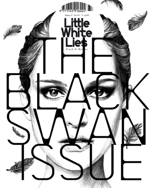 Little White Lies, The Black Swan issue  by David Carson