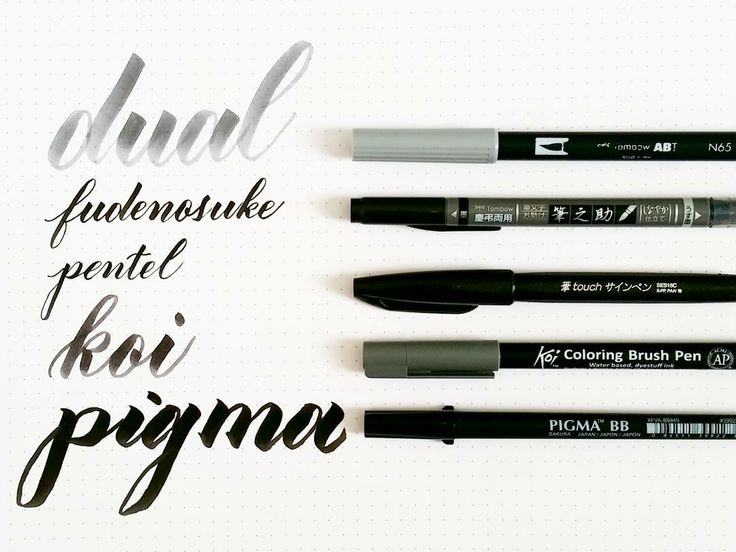 Having the right tools can make all the difference in your brush calligraphy journey. It's important to find the brush pen or set of pens that you feel comfortable with, understand how to use, and ...