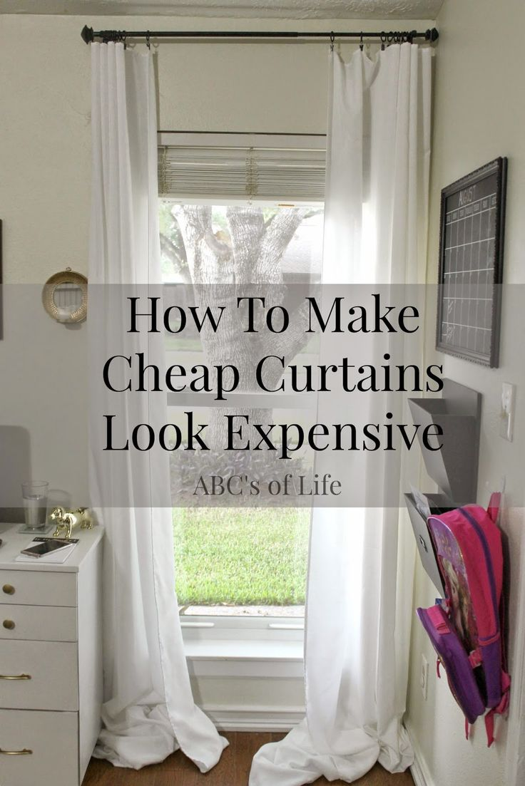 Top 25+ best Inexpensive curtains ideas on Pinterest | Curtains ...