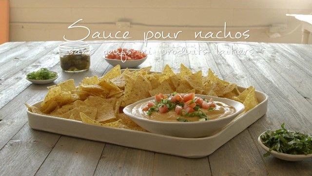 Sauce pour nachos (sans œufs ni produits laitiers) | Cuisine futée, parents pressés