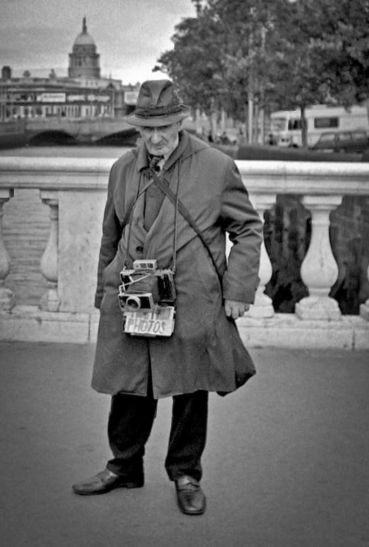 Image by Gerry Smith from Dublin Inner City, 1980's.  Dublin photographer.