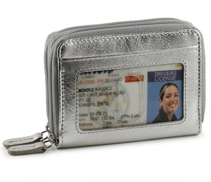 Rfid Double Zip Accordion Credit Card Holder Credit Card Holder Card Holder Buxton Wallets