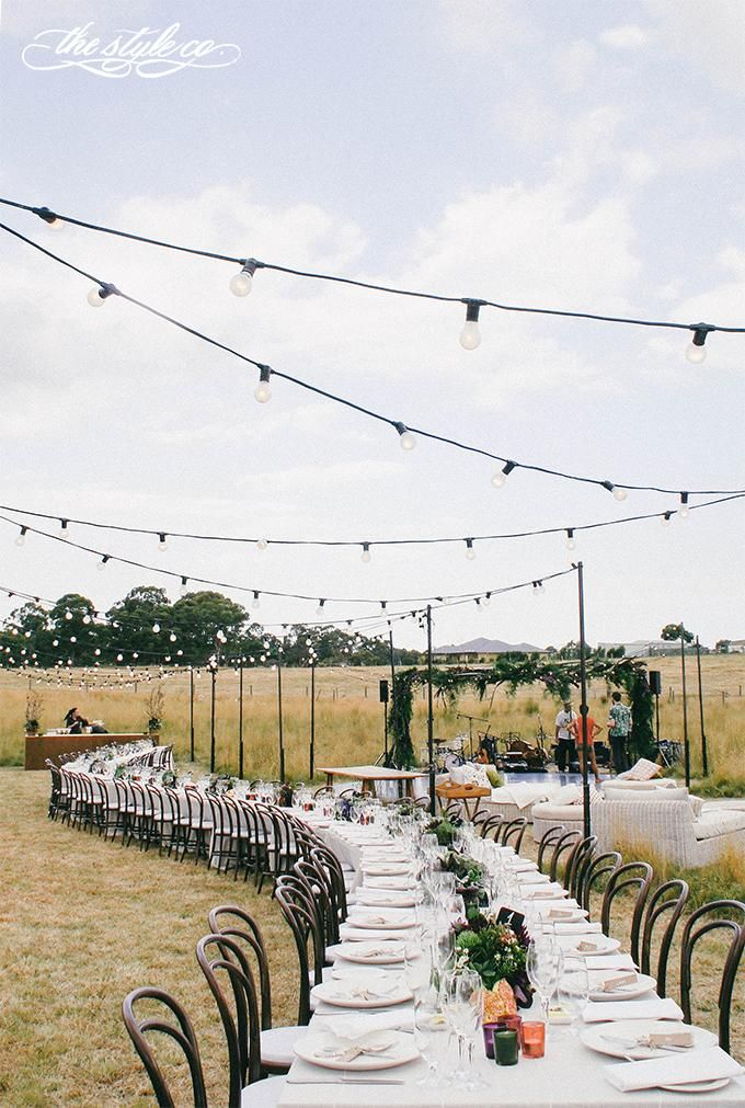 feast in the field //via the style co.