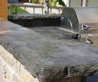 "NEW Cement Concrete Chiseled / Split Granite Countertop Edge Form Mold 2""x 8'"