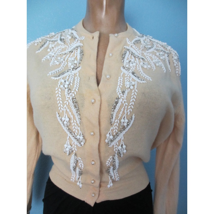 17 Best images about Vintage beaded cardigans on Pinterest ...