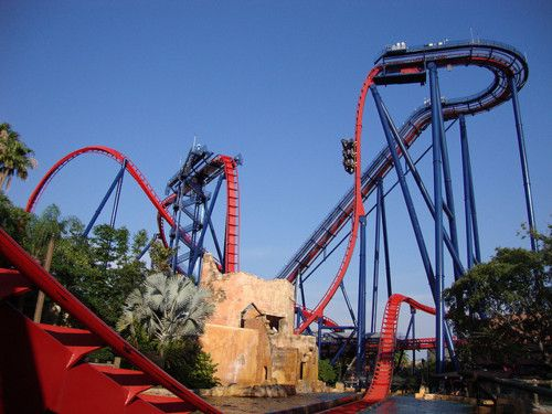Sheikra Roller Coaster At Busch Gardens In Tampa Favorite Places Spaces Pinterest