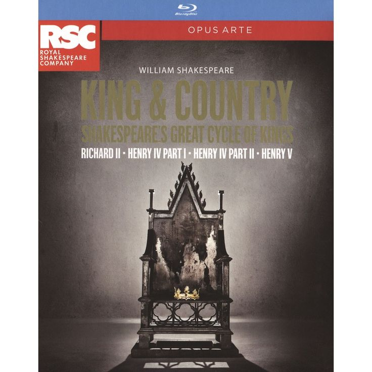 Shakespeare: King & Country [Blu-ray] [4 Discs]