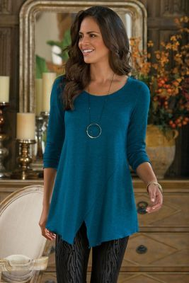 Toulouse Tunic - Women's Tunic, Tunic Top | Soft Surroundings ...