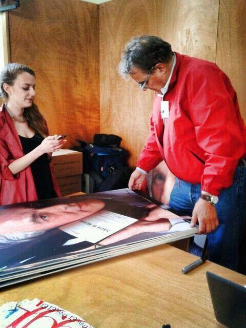 Oliviero Toscani firma i volti della campagna di Anteprima Vini. #AnteprimaLucca