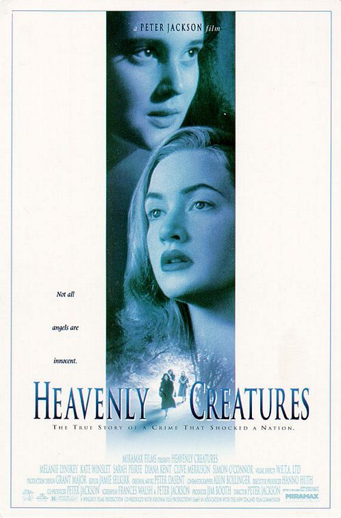 Heavenly Creatures (1994) - two girls have an intense fantasy life; their parents, concerned the fantasy is too intense, separate them, and the girls take steps to avoid being separated. Peter Jackson shows some amazing artistry.
