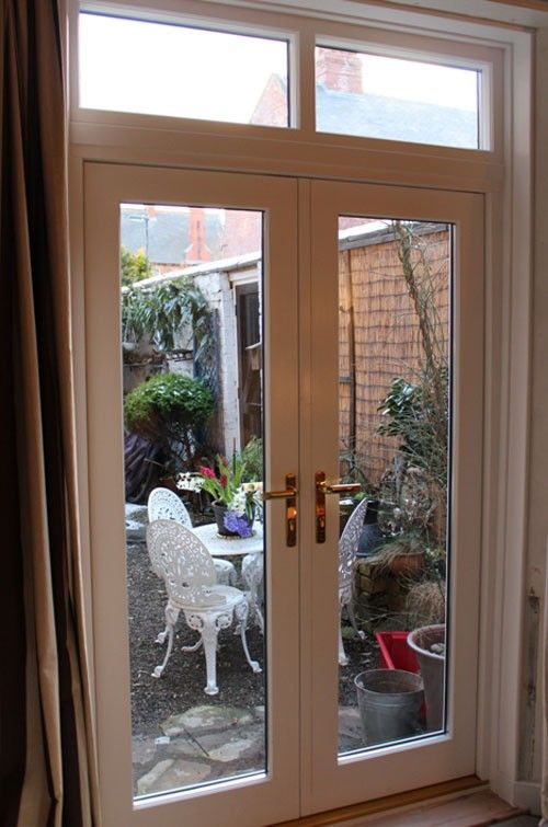 Best 25 narrow french doors ideas on pinterest exterior for Narrow french patio doors