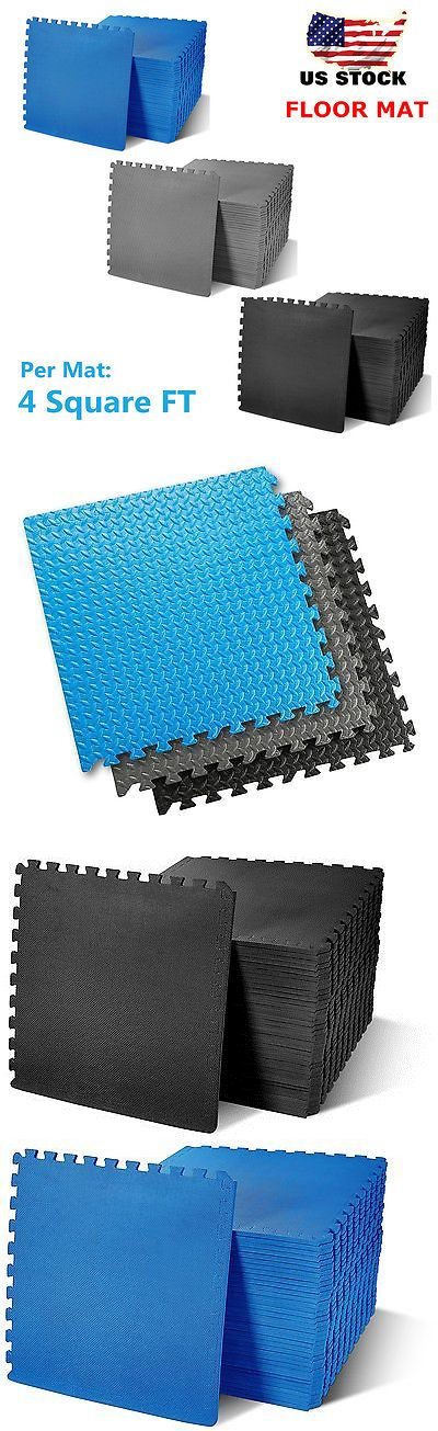 Exercise Mats 44079: Eva Soft Foam Exercise Floor Mats Gym Garage Office Kids Play Mats To -> BUY IT NOW ONLY: $94.24 on eBay!