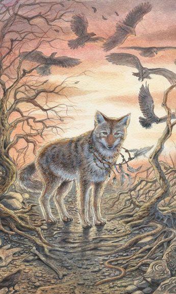 Animals Divine Tarot - Lisa Hunt