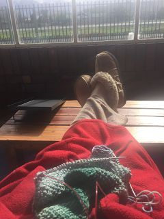 A Cup of Yarn: Stressfree Sunday
