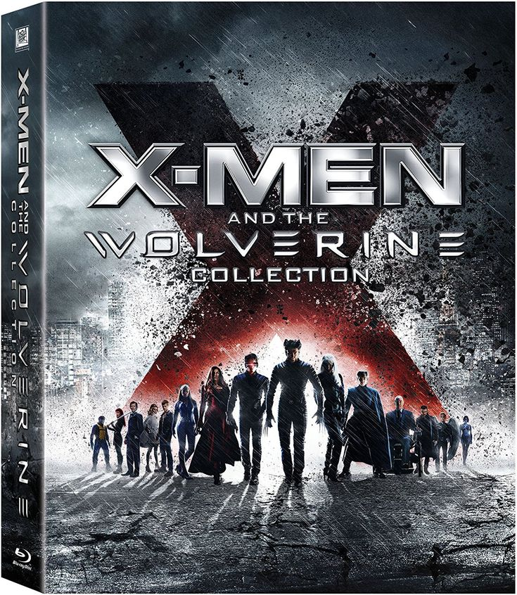 Amazon.com: X-Men and the Wolverine Collection (X-Men / X2: X-Men United / X-Men: The Last Stand / X-Men Origins: Wolverine / X-Men: First Class / The Wolverine) [Blu-ray]: X-Men & The Wolverine: http://amzn.to/2sBG9ye