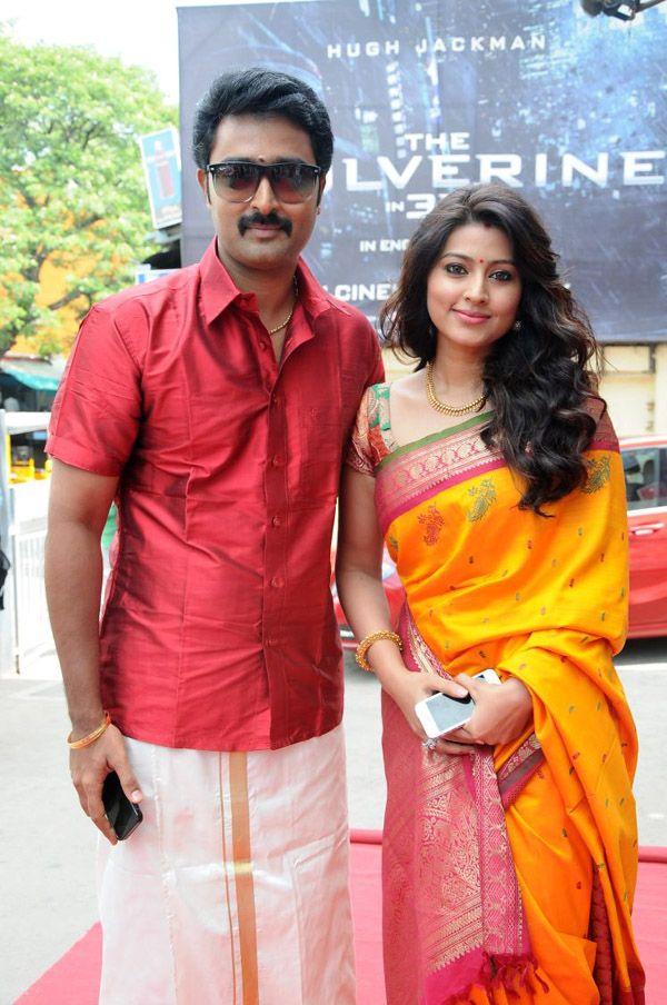 Kollywood actress Sneha with her husband actor Prasanna