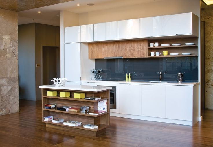 This kitchen is a showcase of a combination of materials and finishes from AyA's sleek urban cabinetry line.  Design: AyA Kitchens and Baths Style: Urban Square Footage: 70 (cabinetry)  Vote in our Ultimate Kitchen Contest here: www.hlmagazine.com/kitchencontest