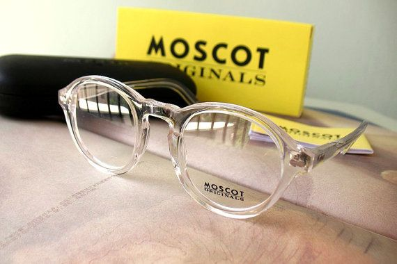 2fe7ae4c34 These Moscot Miltzen Crystal pair of eyeglasses are a must for all  non-conformists.