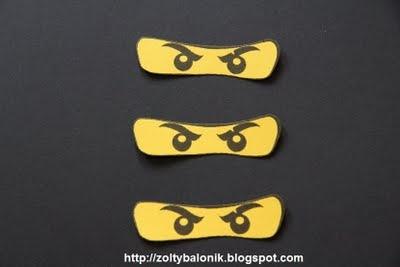 Ninjago Eye Template