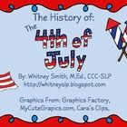 This is a 24 page packet on the history of the 4th of July/Independence Day! It includes activities targeted for ages Kindergarten through 5th grad...