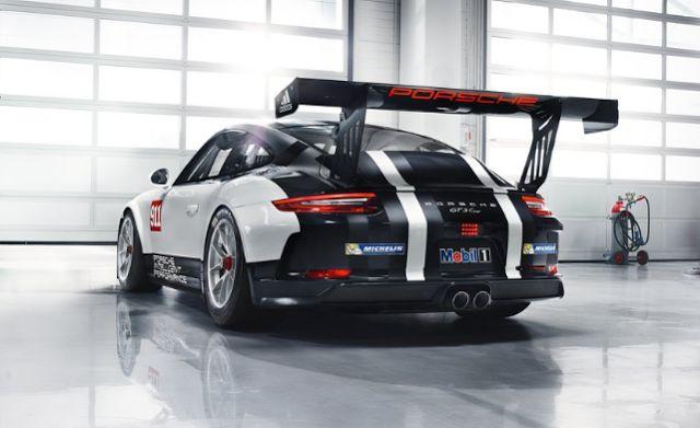 2018 Porsche 911 GT3 Cup Back View