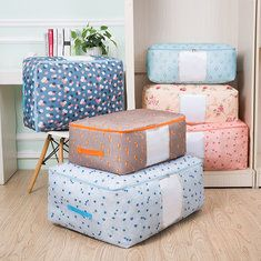 Favorable Thickening Oxford Clothes Quilts Storage Bags Folding Organizer Bags Washable Container - NewChic Mobile.