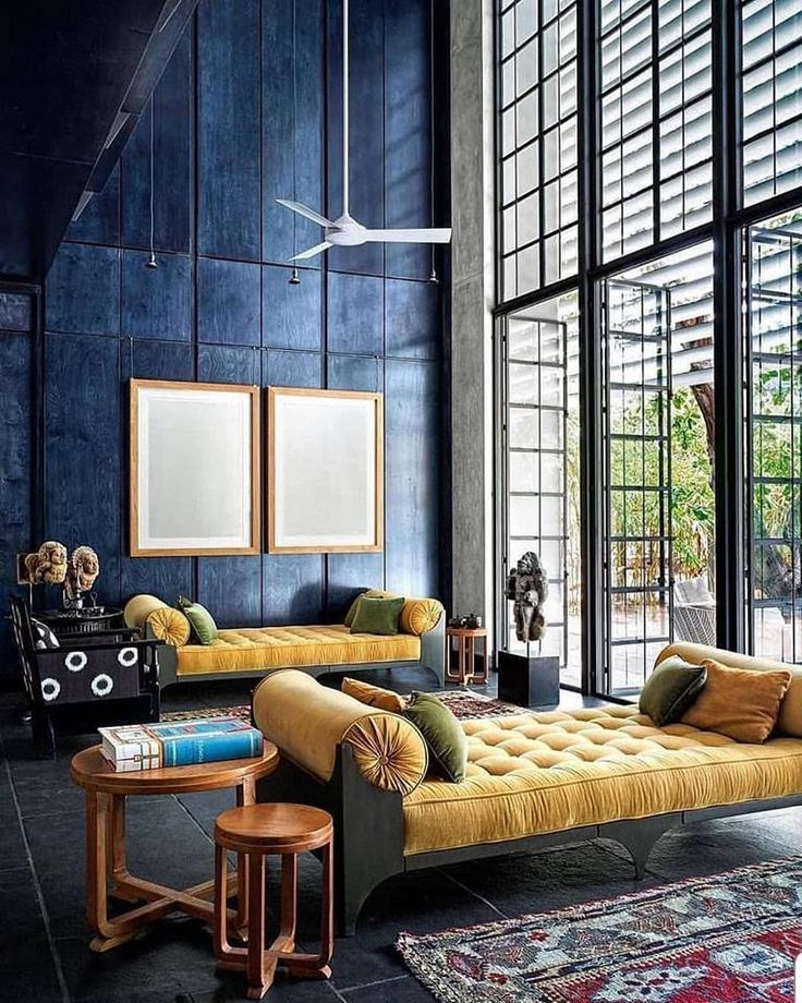Love the combination of yellow and blue!💙💛💙💛 | Home Decor