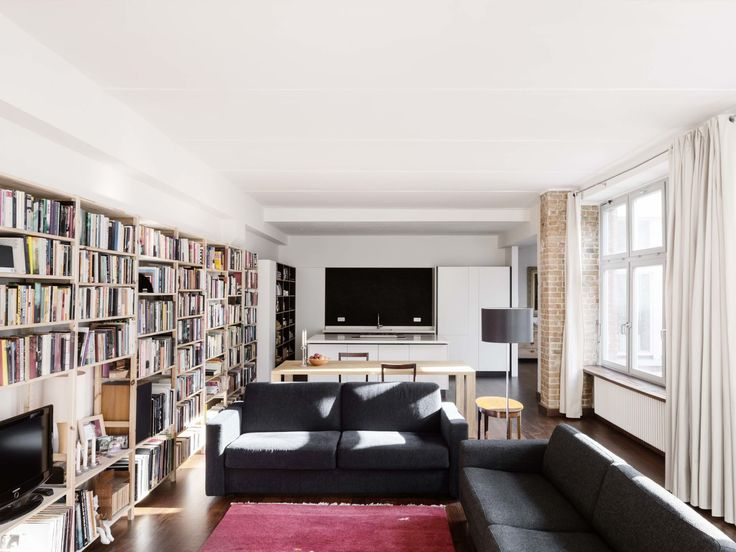 CAMA A, hiepler, brunier, · Loft Apartment Löwestrasse · Divisare