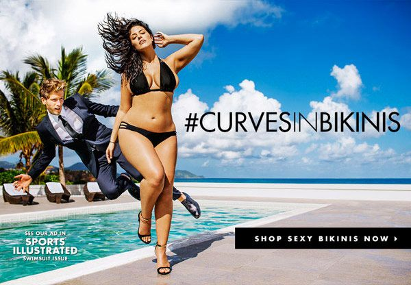 Ashley Graham: 'Sports Illustrated's First-Ever Plus Size Model In NewAd