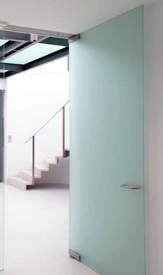 Sandblasted Patch Fitting Door & 27 best Hinged Glass Doors images on Pinterest | Glasses Glass ... pezcame.com