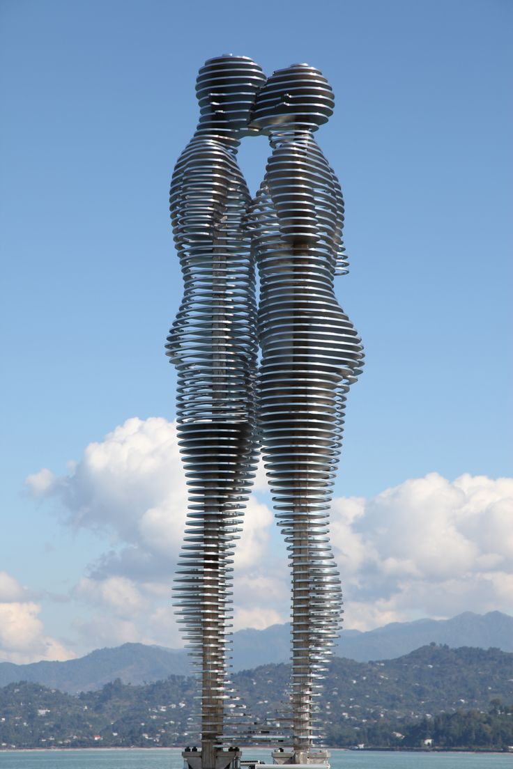 "Statue of Love"" by Tamar Kvesitadze - Batumi, Georgia"