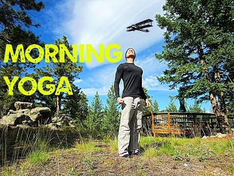 Morning Yoga for Beginners - 12 min Stretch Routine - YouTube