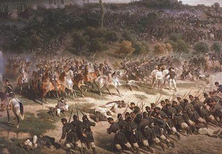 Felice Cerruti-Bauduc, Bataille de Solférino et de San Martino, 1859. Musée national du Risorgimento, Turin.
