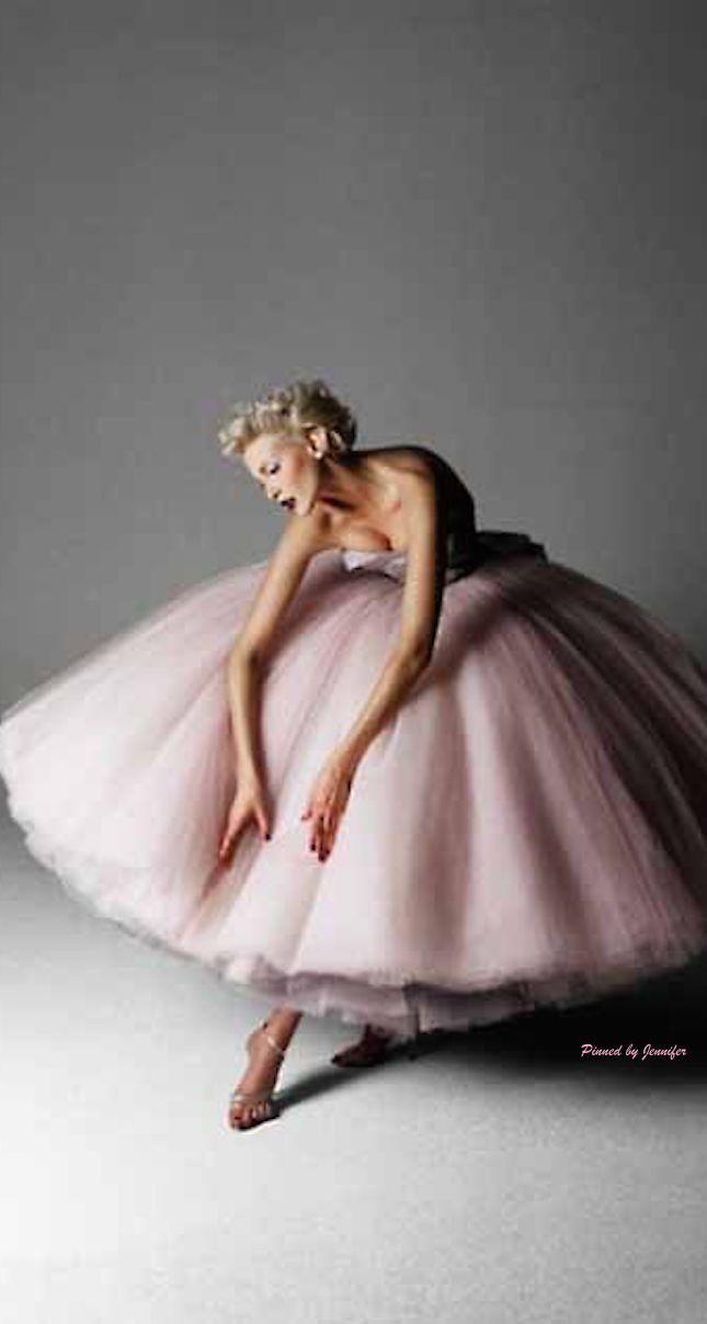 Best Ballet-Inspired Editorials: John Galliano for Dior - Harper's Bazaar January 1995