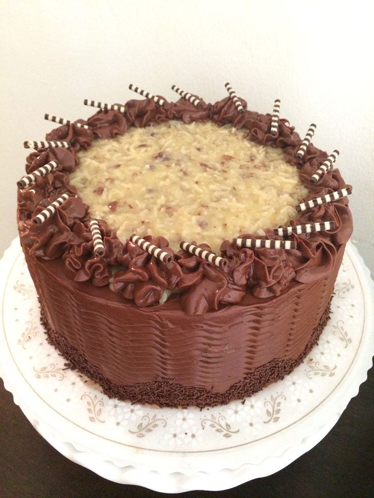 German Chocolate Cake Chocolate Cake Chocolate