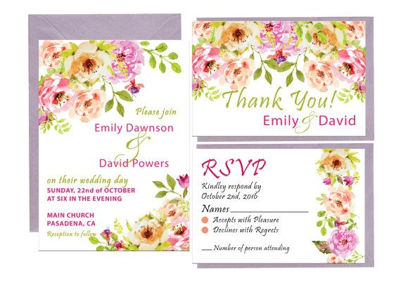 Hey, I found this really awesome Etsy listing at https://www.etsy.com/listing/462046620/wedding-invitation-printable-floral