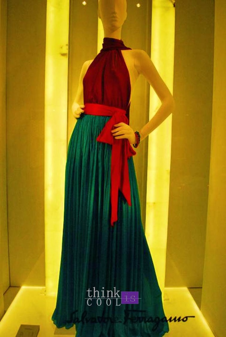 Windows shop's fashion dresses for summer evenings « Think is Cool – Fashion Blog