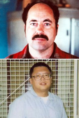 Leonard Lake and Charles Ng were a pair of serial killers responsible for as many as 25 murders. They not hesitant to abduct entire families. After killing the men and children to get them out of the way, they would hold the women captive in a custom-built room in a bunker at Lake's ranch, tie them up and torture and rape them, videotaping each other while doing so. After killing the victims by either strangling or shooting them, they would often bury them in shallow graves on the property.
