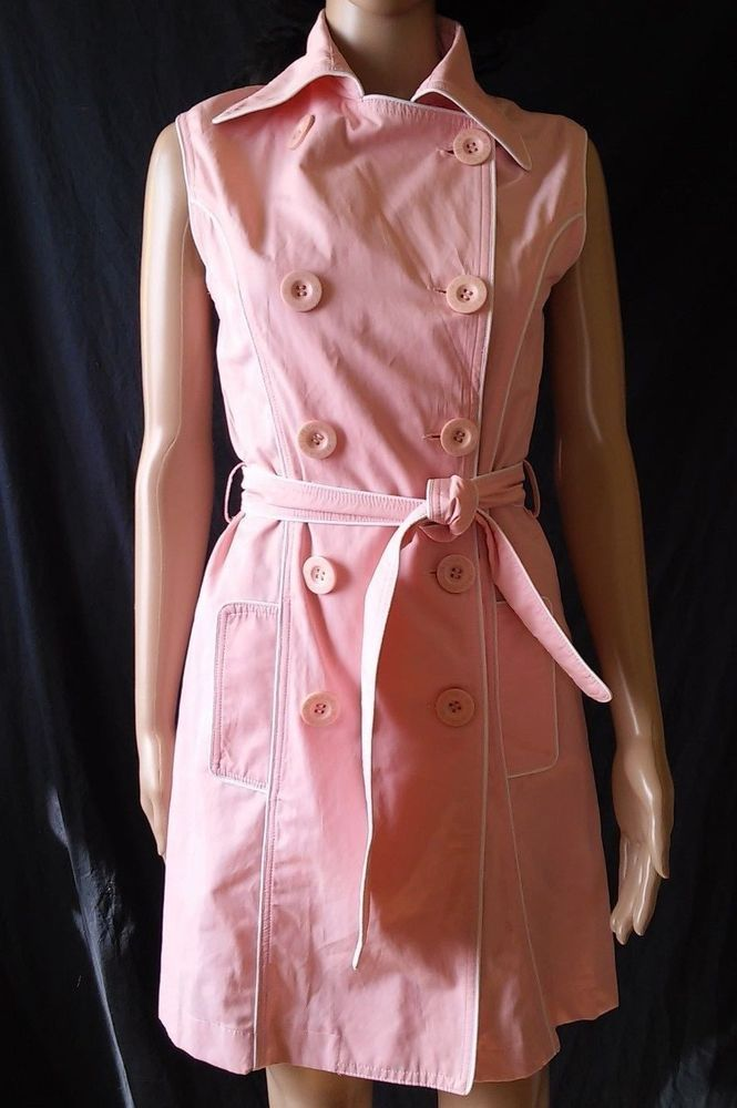 #twitter#tumbrl#instagram#avito#ebay#yandex#facebook #whatsapp#google#fashion#icq#skype#dailymail#avito.ru#nytimes #i_love_ny #cnn # BBCBreaking #  BBCWorld #  cnnbrk # nytimes # globaltimesnews #     Authentic Chanel Pink sleeveless cotton Occasion 10 button Dress  made in Italy #Chanel #Everyday