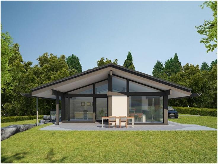Modernes holzhaus bungalow  27 besten Huf Haus Bilder auf Pinterest | Architektur, Haus ...