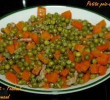 Recette - Petits pois-carottes - Proposée par 750 grammes
