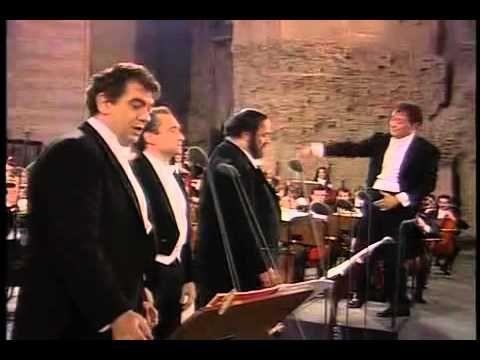 Popurrí (Cielito Lindo...) - Los 3 Tenores HD. Music: Cielito Lindo Singers(Tenors) : (The Three Tenors - los 3 tenores) - Luciano Pavarotti, Plácido Domingo & Josep Carreras